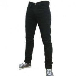 Pantalon Denim Skinny Black